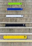 камень лестниц объявления стоковые изображения