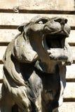 камень льва Стоковые Изображения