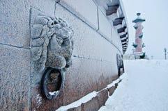 камень льва Стоковое фото RF