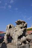 камень льва Стоковые Фото