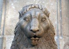 камень льва Стоковая Фотография