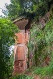 Камень морского района 36 Сычуань Shu Nan бамбуковые большой Стоковые Фото