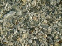 камень моря ровный Стоковая Фотография