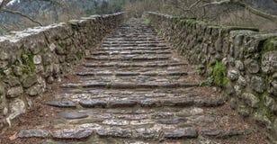 камень моста старый Стоковые Изображения RF