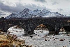 камень моста старый стоковое изображение