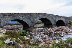 камень моста старый Стоковое Изображение RF