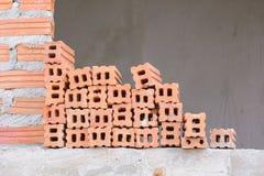 Камень на конструкции Стоковая Фотография