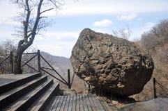 Камень на фулкруме Стоковые Фотографии RF