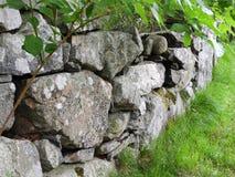 Камень Новой Англии обнести Массачусетс стоковое изображение rf