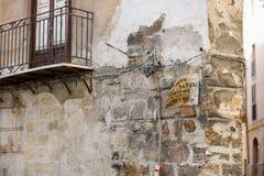 камень дома старый Стоковое Фото