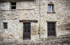 камень дома фасада Стоковые Фото