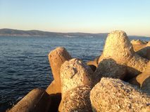 Камень от воды Стоковая Фотография