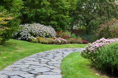 камень парка майны осени Стоковые Фото