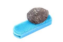 камень пемзы щетки Стоковое фото RF