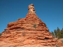 камень печной трубы кабины стоковое фото