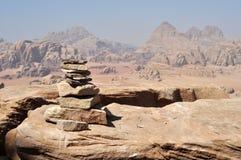 камень пирамидки Стоковые Изображения RF