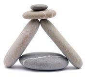 камень пирамидки Стоковые Изображения