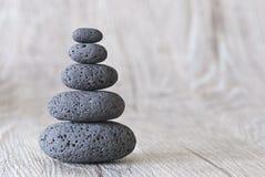 камень пирамиды из камней Стоковая Фотография
