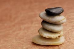 камень пирамиды из камней Стоковое Изображение