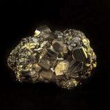 Камень пирита геологохимический Стоковая Фотография RF