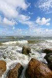 камень пляжа стоковое изображение rf