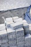 камень подъездной дороги блокируя Стоковое фото RF