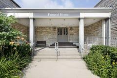 камень похоронного дома входа Стоковые Фотографии RF