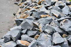 Камень подготавливает для конструкции Стоковое Изображение