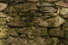 камень предпосылки старый Постаретая каменная поверхность для дизайна Текстура  Стоковое Изображение