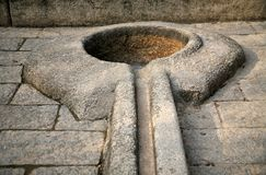 камень примитива гальюна Стоковое Изображение RF