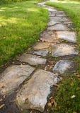 камень путя шагая Стоковая Фотография
