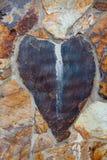 Камень разбитого сердца стоковые изображения rf