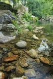 Камень реки на Gerês - Португалии стоковое фото