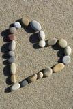камень сердца Стоковая Фотография RF