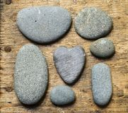 камень сердца стоковое изображение rf
