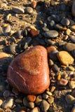 камень сердца форменный Стоковые Изображения