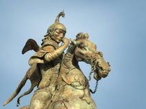 камень скульптуры Всадник Стоковое Изображение