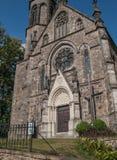 Камень, старая, историческая церковь стоковое изображение rf