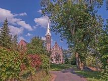 Камень, старая, историческая церковь стоковые фотографии rf