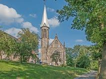 Камень, старая, историческая церковь стоковая фотография