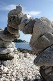 камень стога Стоковое Изображение RF