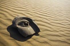 камень стороны пустыни Стоковые Фотографии RF