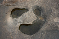камень стороны Стоковое Изображение