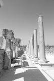камень столбца старый в индюке Азии конструкции perge и Стоковая Фотография