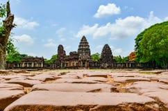 камень Таиланд phimai замока Стоковая Фотография