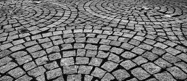 Камень текстуры мостоваой кубический Стоковое Фото