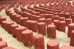 Камень трибуны старый красный Стоковое Фото