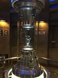 Камень фантазии сцены SciFi в контейнере Стоковая Фотография