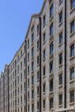 камень фасада здания старый Стоковое Изображение