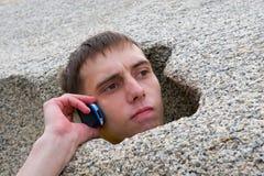 камень человека Стоковые Изображения RF